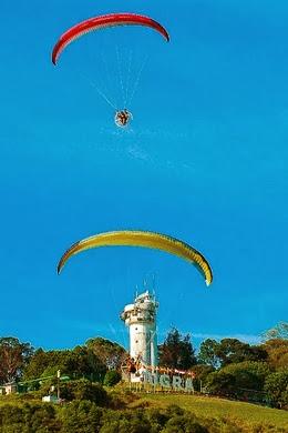 sukan paragliding