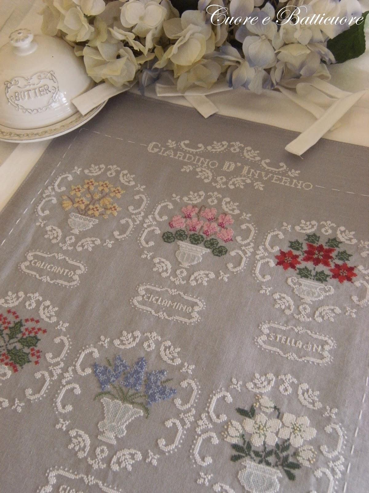 Giardino D Inverno Libro : Cuore e batticuore anno nuovo schema quot giardino d