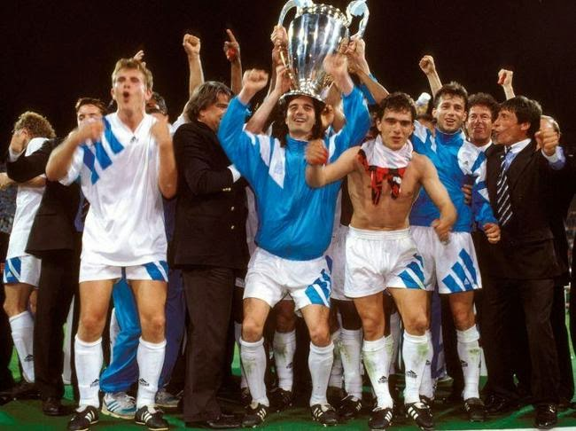 1993 European Cup Final - Olympic Marseilles v AC MIlan
