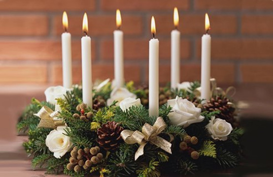Creative Christmas table decorating picture 9