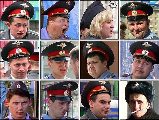 policias rusos