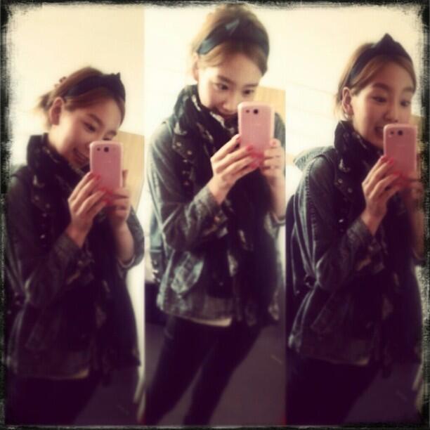 (CAPS) Taeyeon en LD y con su mamá 130427+taeyeon+instagram