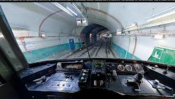 Visite virtuelle d'une cabine de conduite de métro