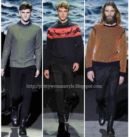 мъжки пуловери 2013