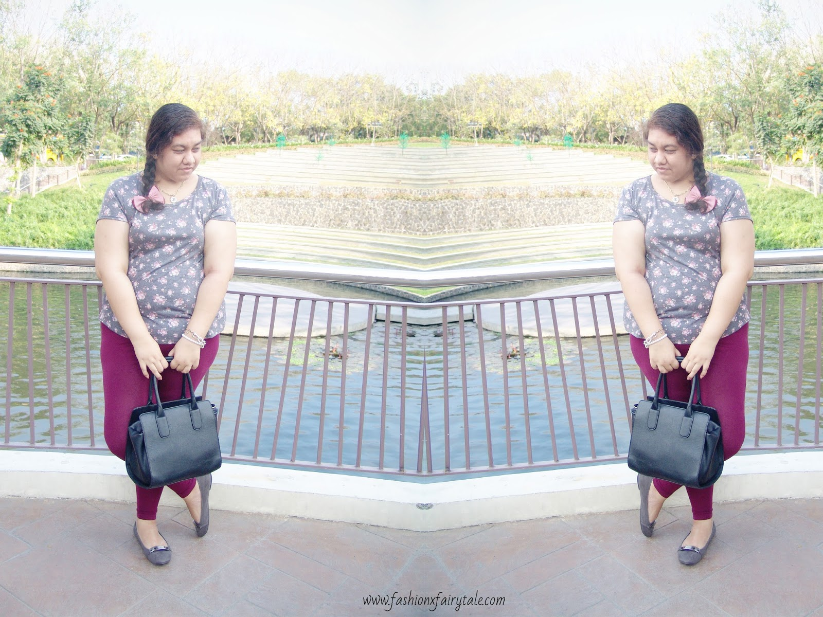 Floral Marsala | What I Wore