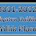2011-2012 Tiyatro Kulübü Yıllık Planı