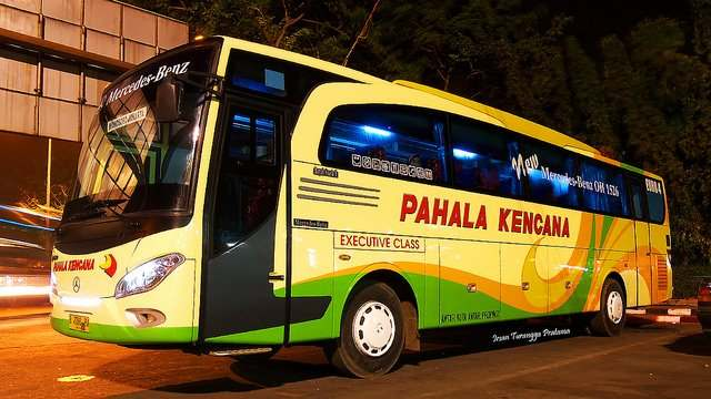 Gambar Bus Pariwisata Pahala Kencana Galeri
