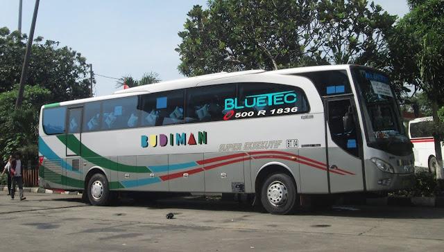 Update Harga Tiket Bus Budiman Per Agustus 2015