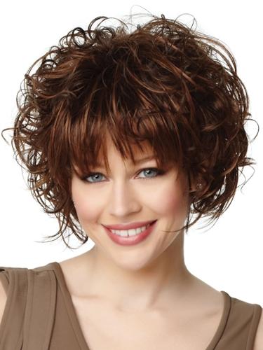 Style Wavy Hair Wedge Cut Hairstyle Of Bob Hair