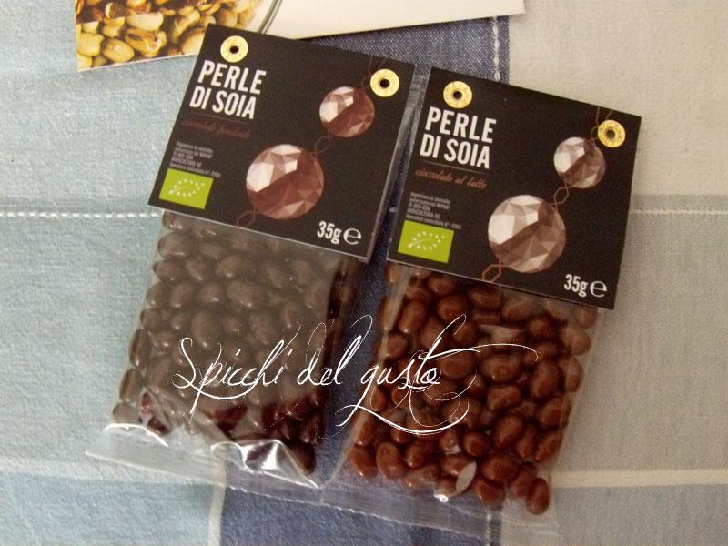 Perle di Soia ricoperte di cioccolato