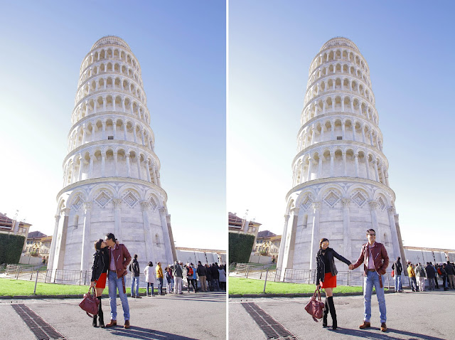 honeymoon, Pisa, leaning tower, Italy, Europe, travels