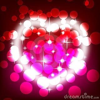 imagenes de corazones brillantes