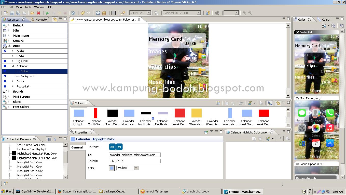 Software Pembuat Tema Nokia S40 Dan Symbian Yang Umum Di