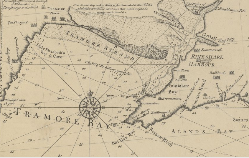 Chart of Tramore Bay