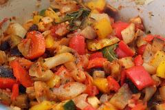 Sunne, gode grønnsaker