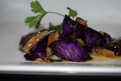 meat free monday: thai eggplant with basil