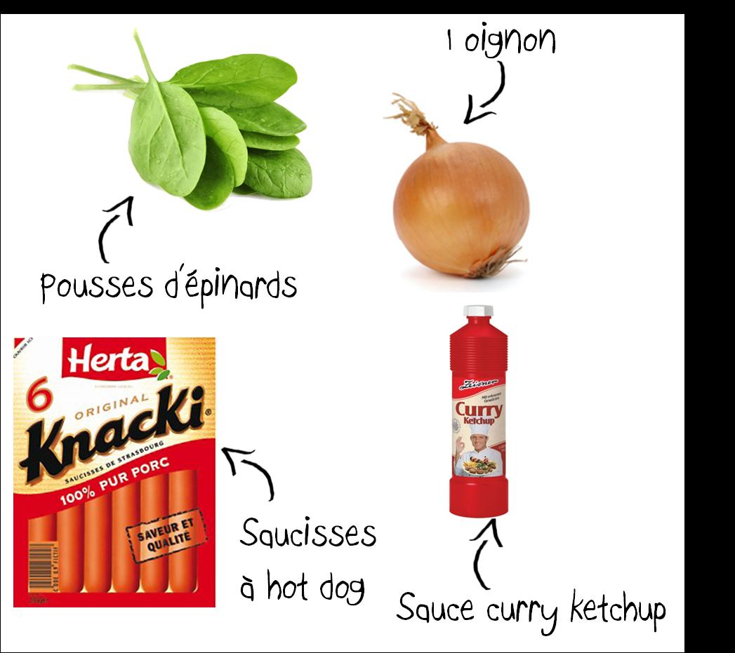 Ingrédients Dog Hot Dog Miam Homemade Recette