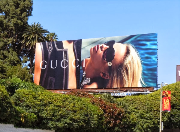 Gucci sunglasses May10 billboard
