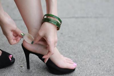 Hansaplast Foot Expert SOS Blasen-Pflaster - Anwendungsbild 2