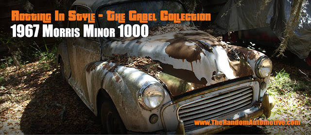 1967 morris minor rotting in style british classic car dylan benson random automotive