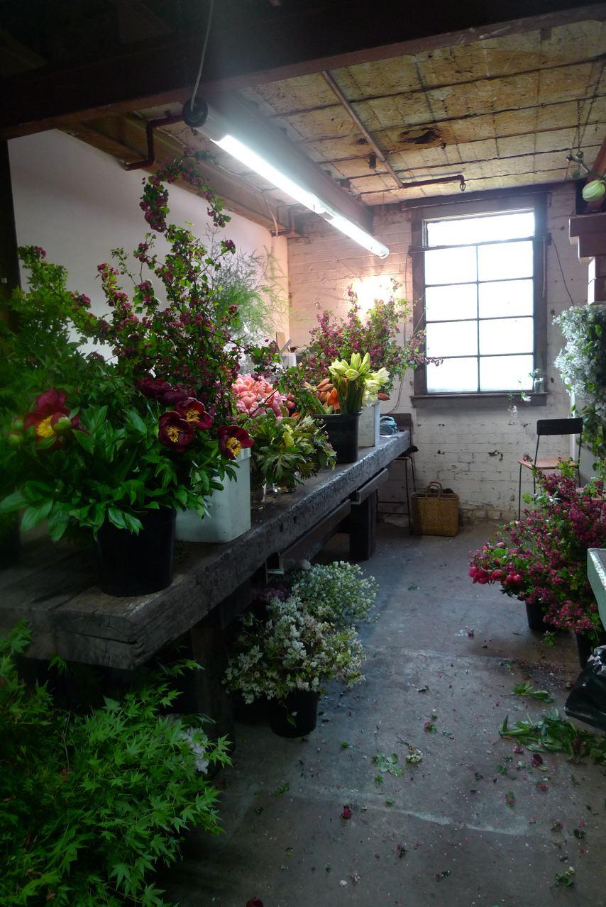 daily imprint interviews on creative living florist simone gooch