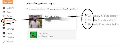link profile with google plus profile