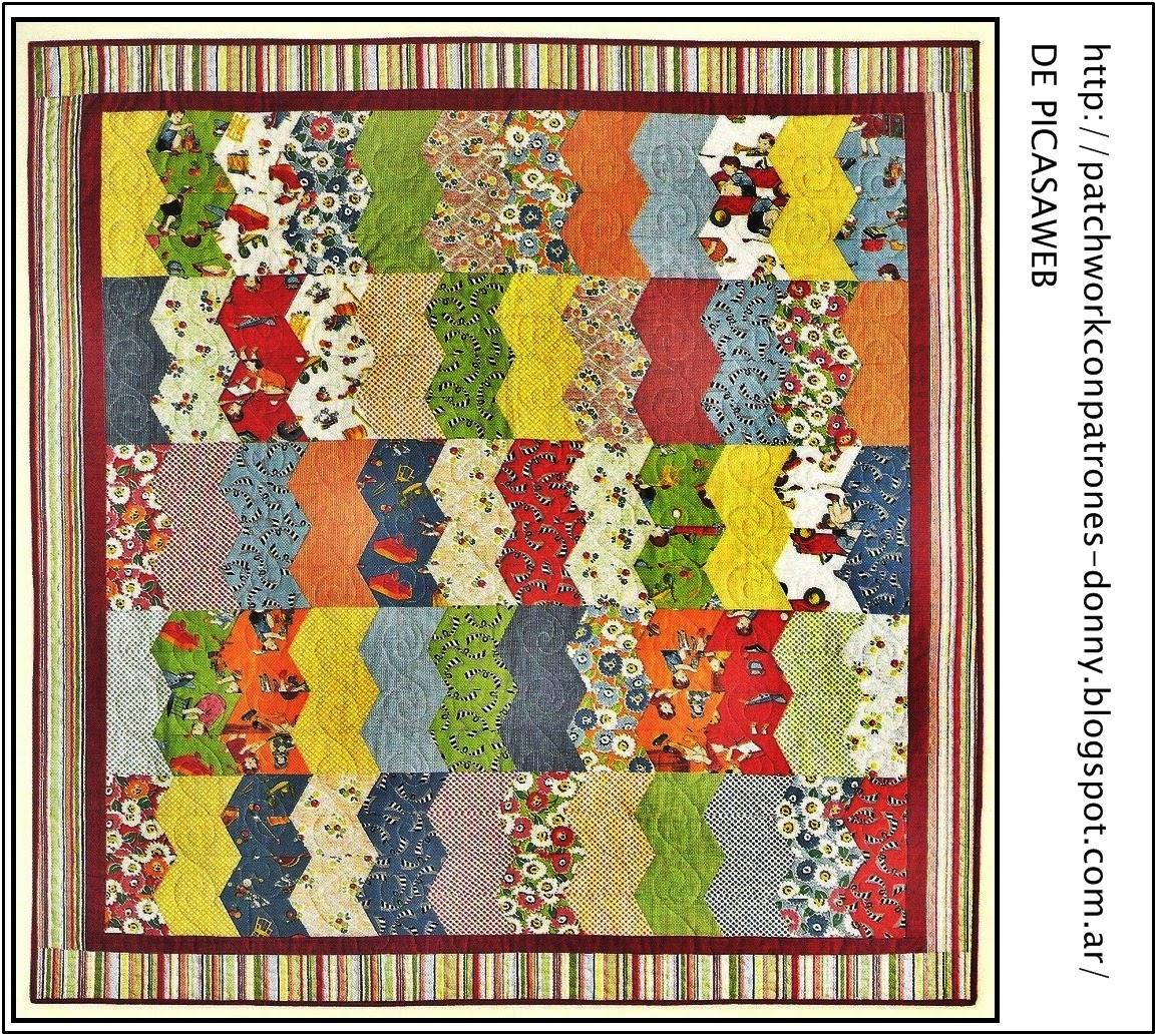 Patchwork solo patrones todo gratis tapiz manta - Patrones de perros de patchwork ...
