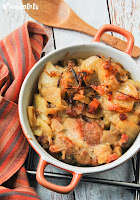 Cazuelita normanda con patatas a la sidra