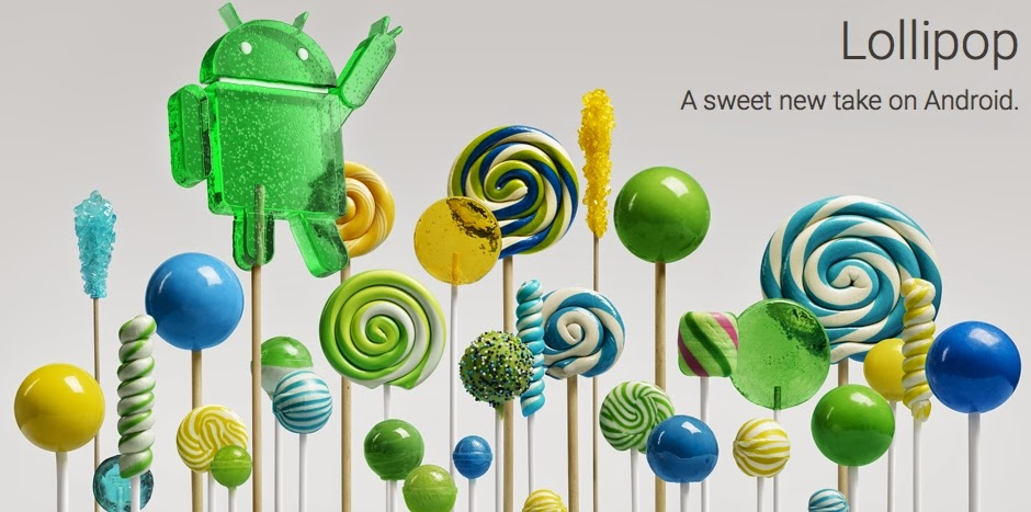 Android 5.0 Lollipop Sony