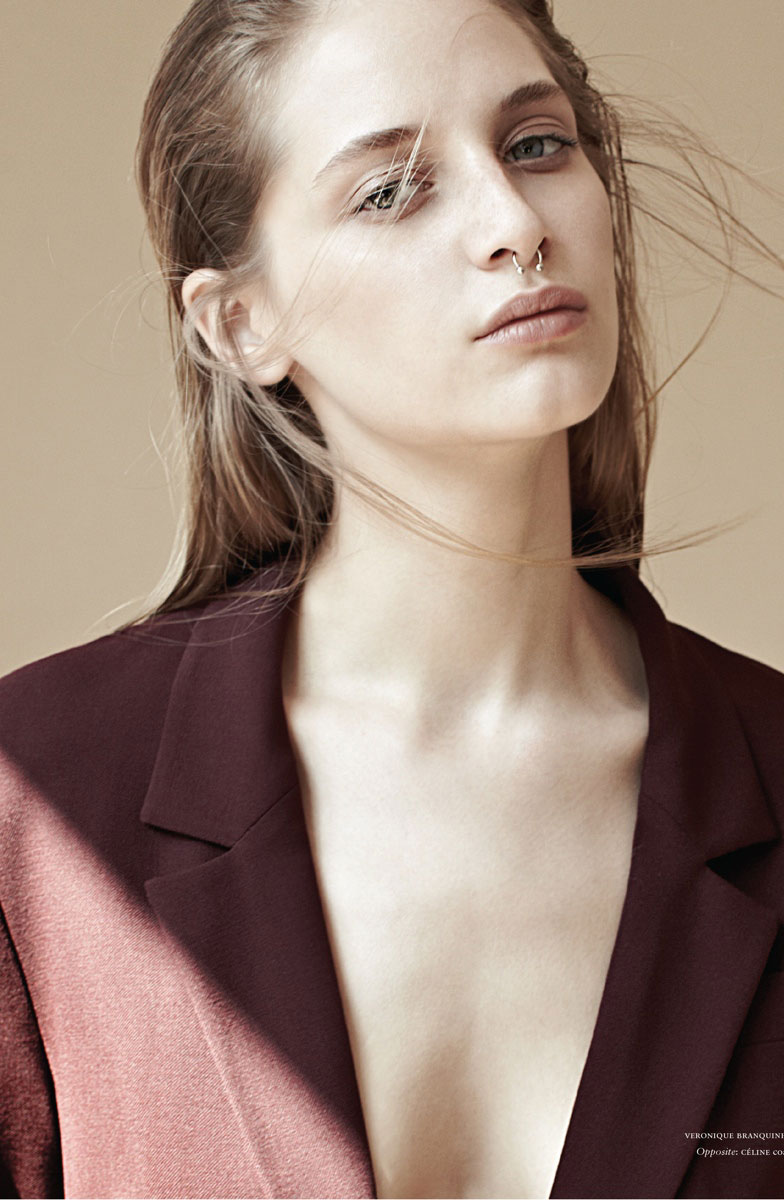 via fashioned by love | Melina Gesto in Russh #60 October/November 2014 | Exclusive interview