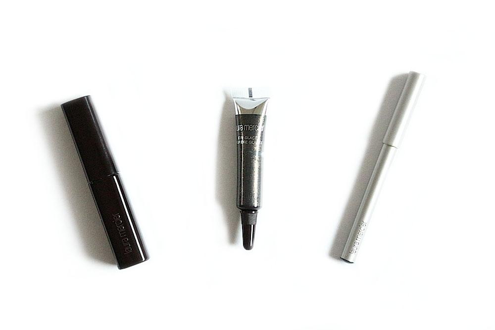 laura mercier maquillage noel 2014 coffret trio black swatch avis test