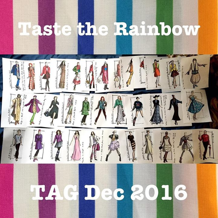 "Save the Date! ""Fashion Rainbow"" art exhibition and 40+ blogger meetup"