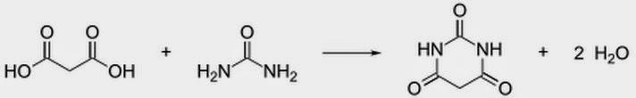 barbituric acid synthesis malonate malonic acid urea condensation