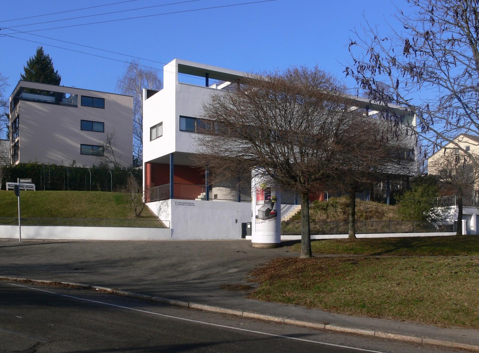 Historia del arte arquitectura racionalista for Villas weissenhofsiedlung
