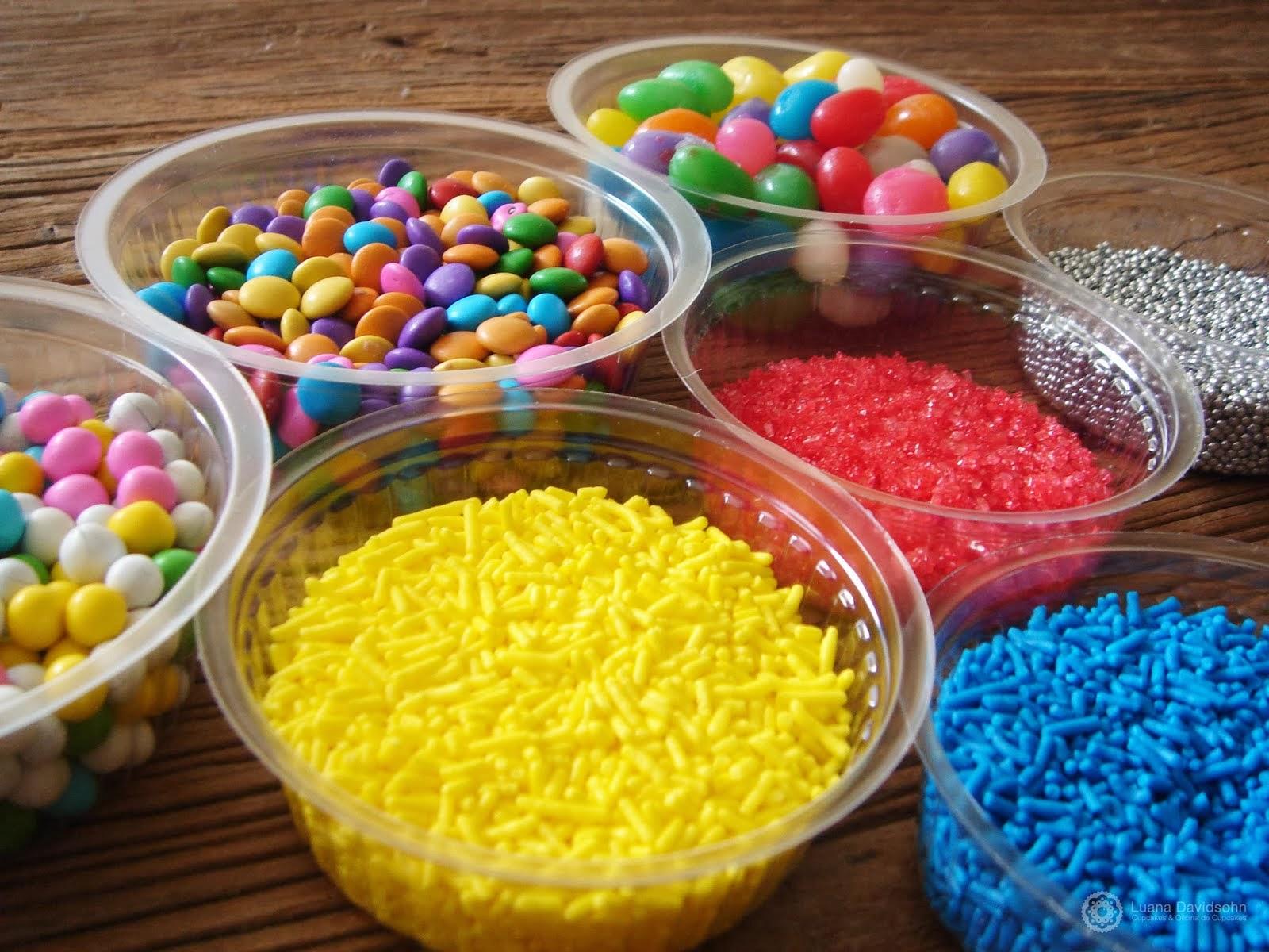 confeitos granulados