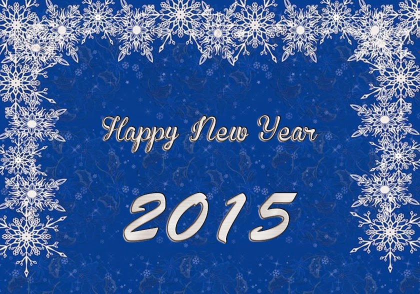 Snow Happy New Year Wallpapers 2015