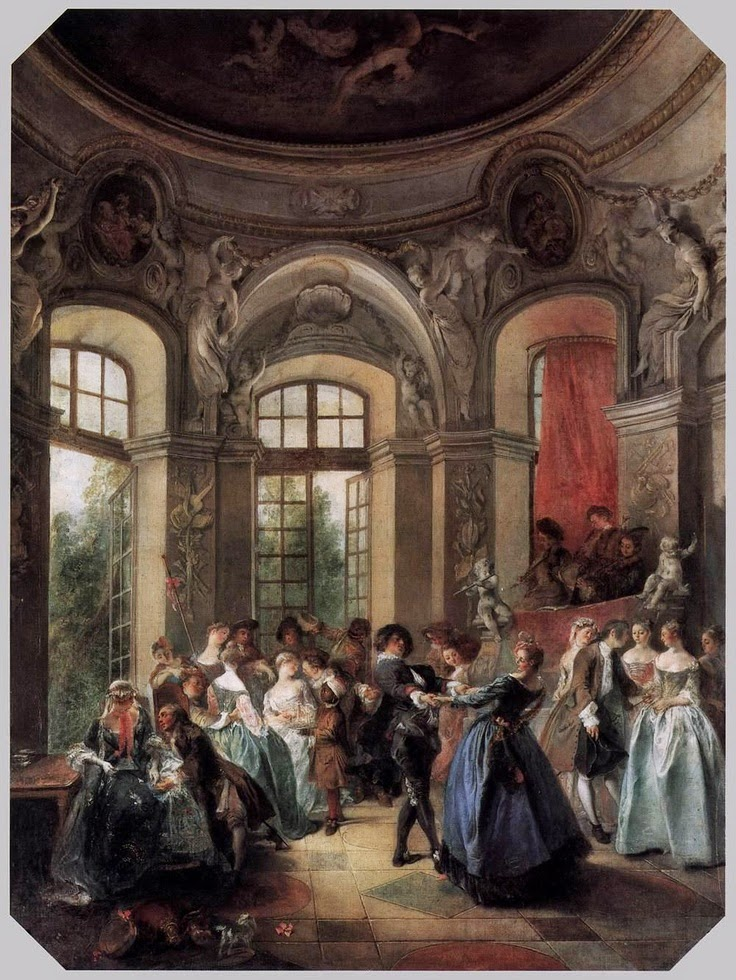 Dance in a Pavillion, 1730, Lancret