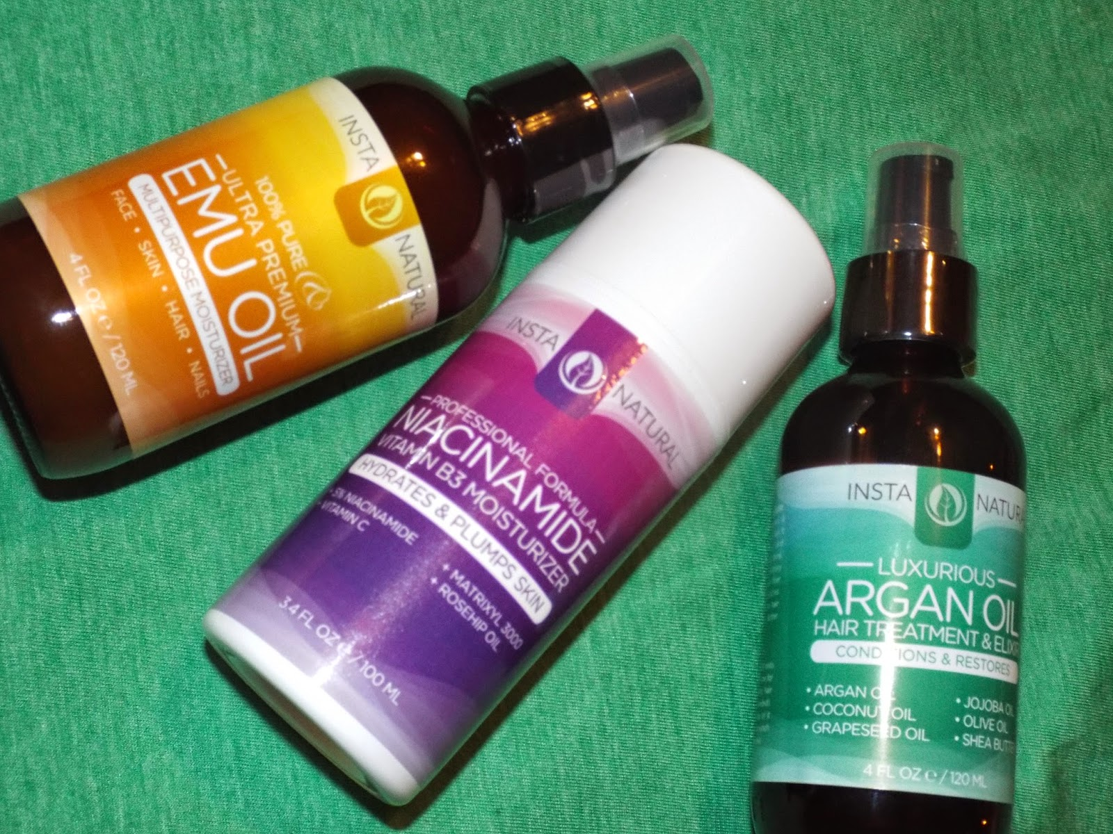 InstaNatural Products are All Natural
