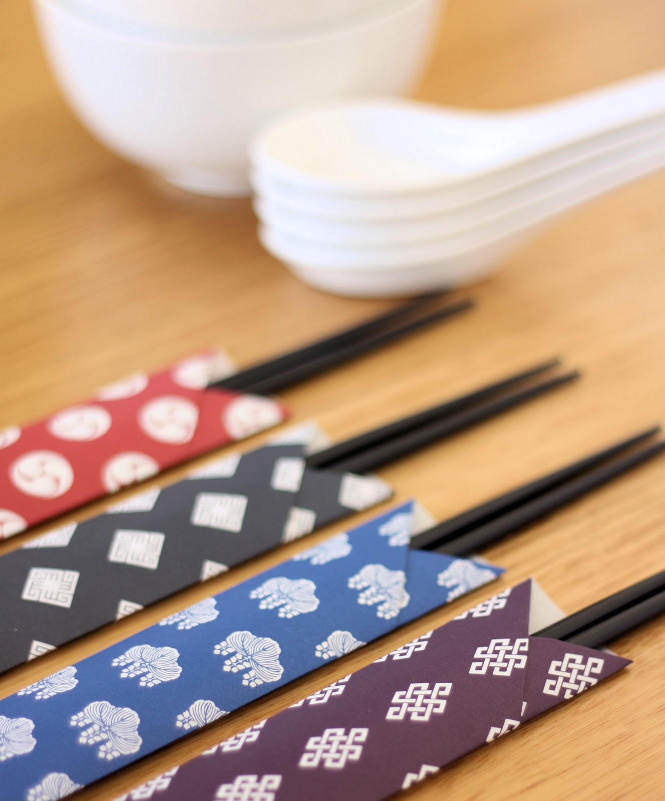 Chopstick Wrappers A Spoonful Of Sugar