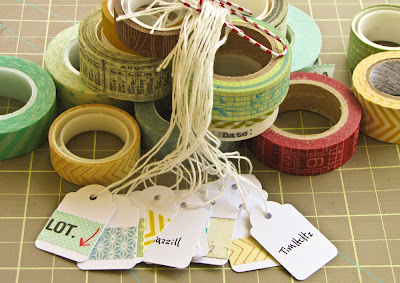 tags, catalog, tim holts, american crafts, bazzill, sei