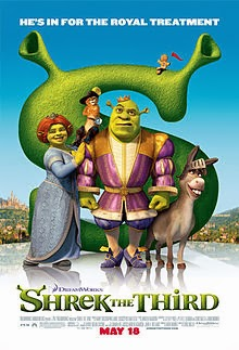 Top 7 Animasi Terlaris Sepanjang Masa-Shrek the Third (2007)
