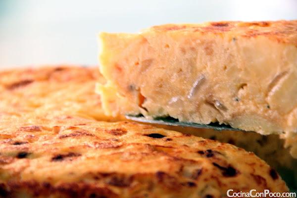 tortilla de patatas receta