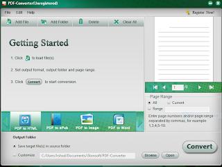Istonsoft PDF converter software