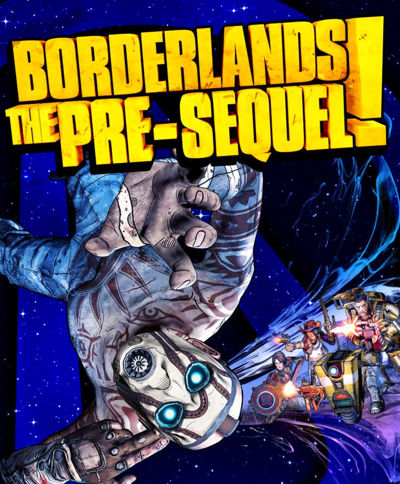 Borderlands the pre sequel poster 2014 jpg