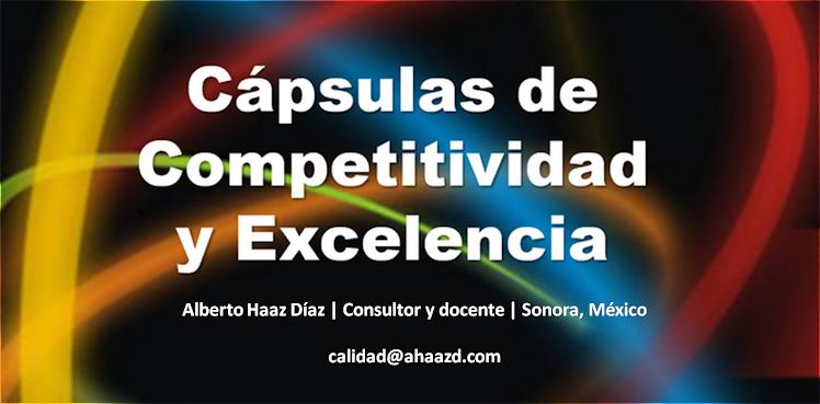 Cápsulas de Competitividad y Excelencia