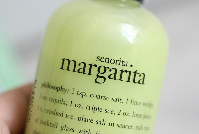 philosophy senorita margarita shampoo, shower gel, & bubble bath