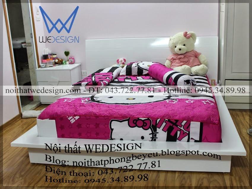 Giường ngủ kiểu Nhật MSP: GTEEN - NHAT.01