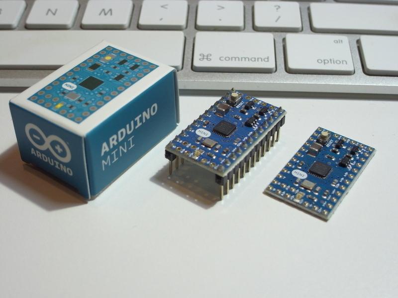 Kemushicomputer arduino mini v