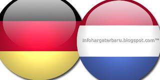 Prediksi Skor Jerman vs Belanda | Jadwal Live Streaming Euro Cup | RCTI Kamis 14 Juni 2012