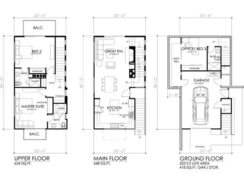 House plans 4 bedrooms upstairs house plans for Modern upstairs house plans
